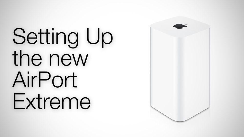 Обзор маршрутизатора Apple Airport Extreme
