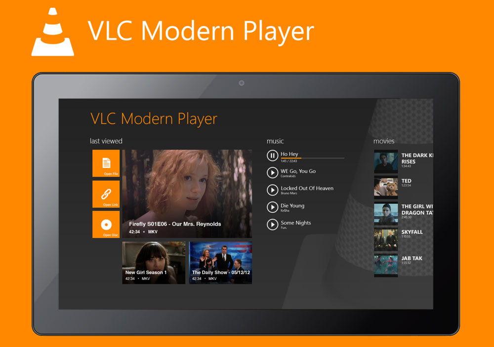 Обновленный VLC Player для телевидения