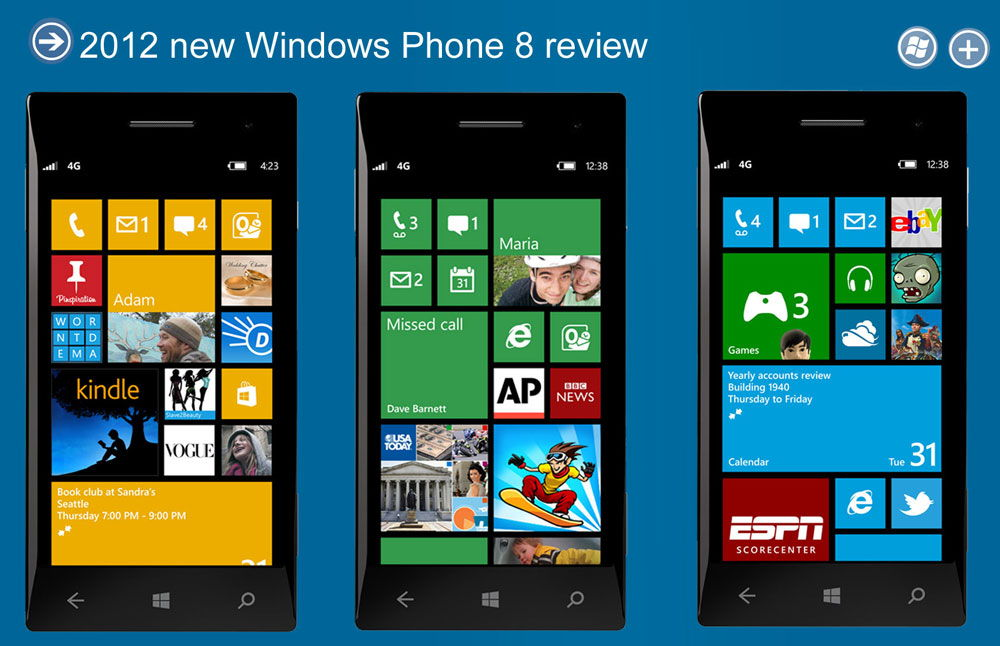 Обзор системы Windows Phone
