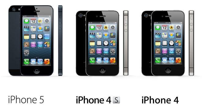 Выбор модели iPhone