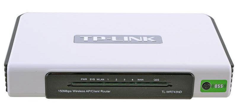Функциональный TP-Link TL-WR743ND