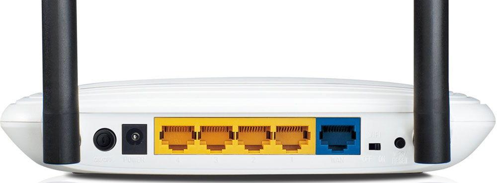 Разъёмы для подключения к сети