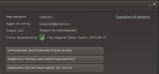 Активация Steam Guard