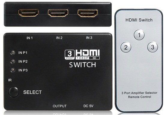 Комплект HDMI-свитчера