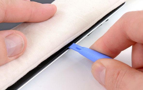 Демонтаж стекла iPad