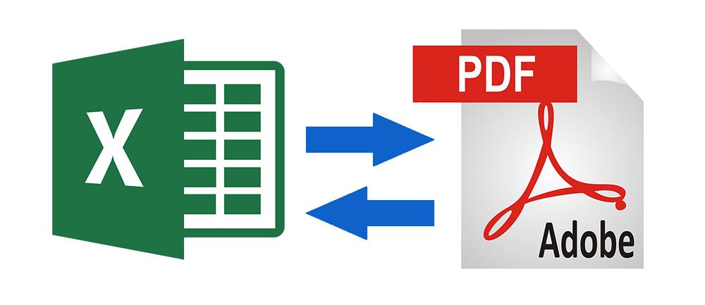 XLSX в PDF, PDF в XLSX