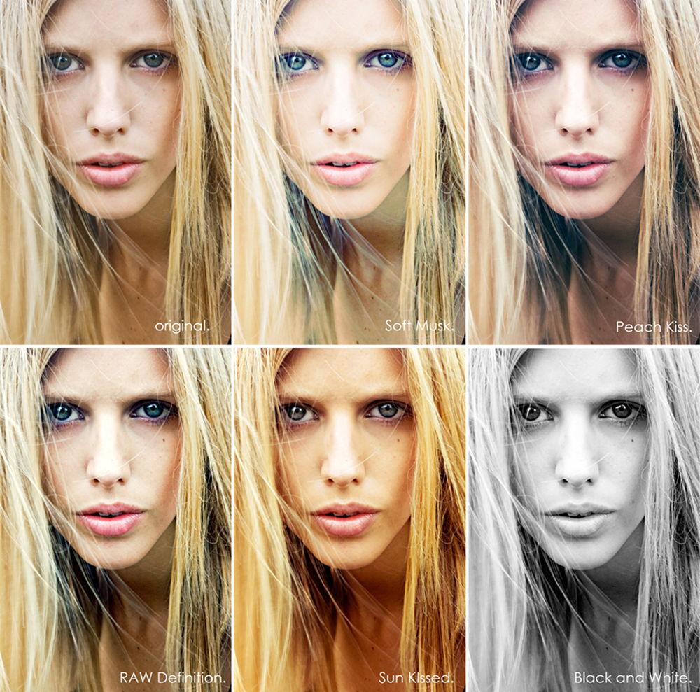 Фотографии с разными эффектами