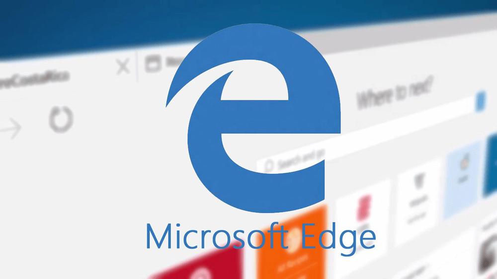 Новый браузер Microsoft Edge - логотип