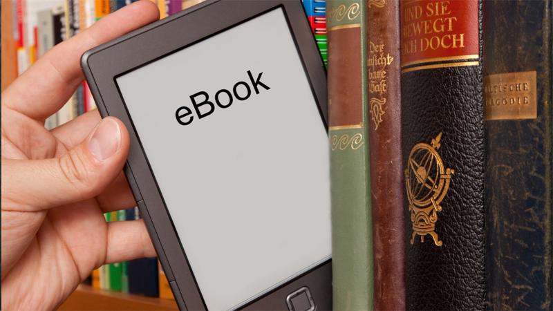 Обычные и электронная книги