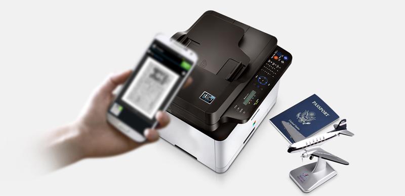 Отправка факса с мобильного