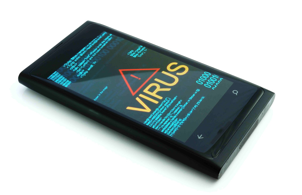 Вирусная атака на телефон