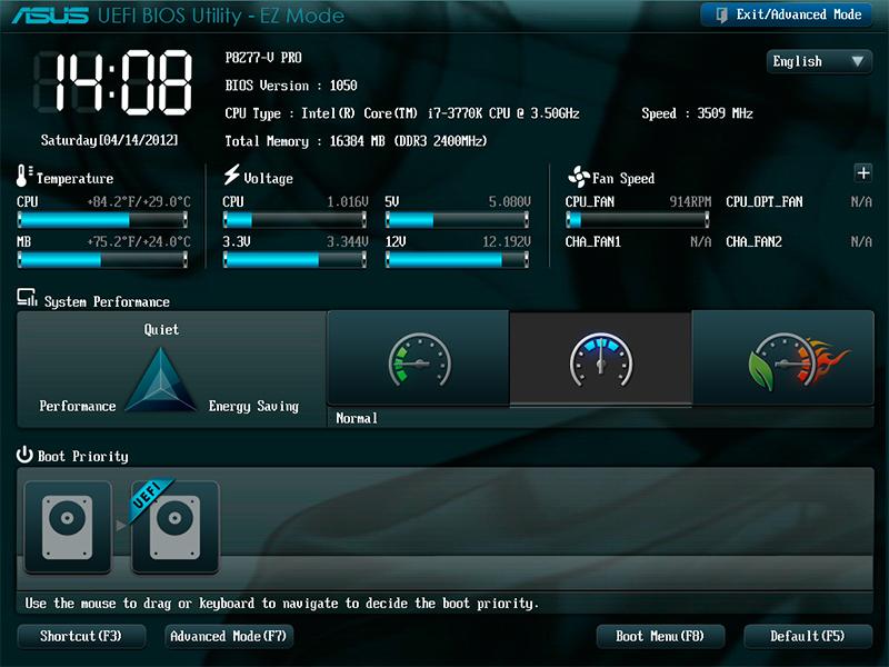 Asus Новая версия BIOS