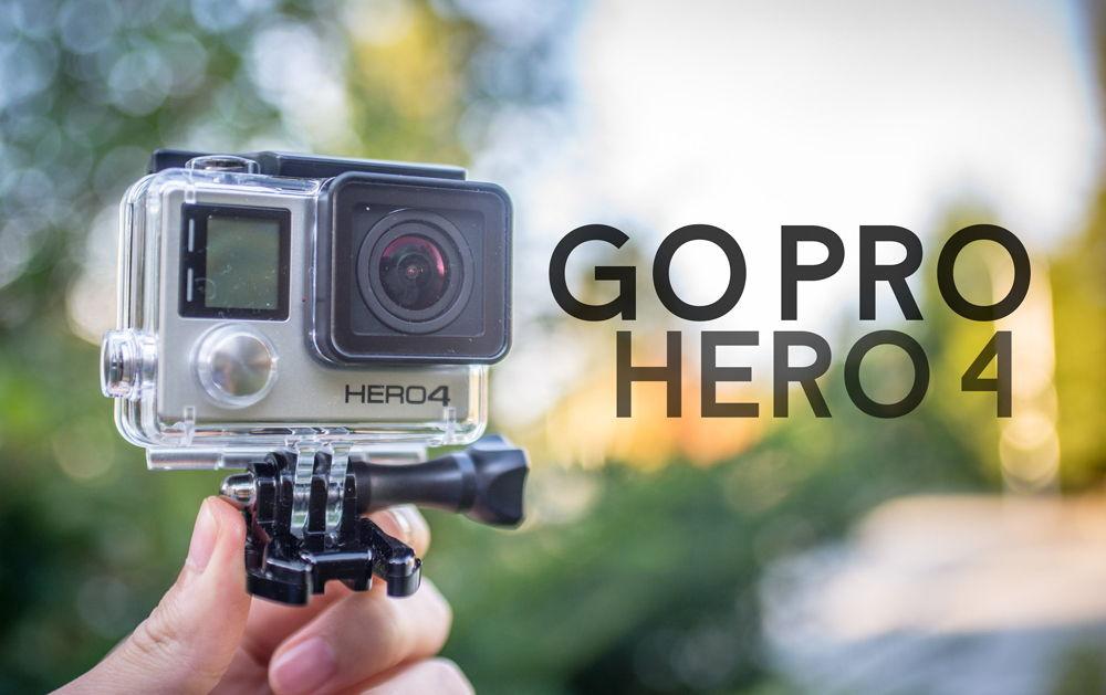 GoPro Hero4 Black в руке