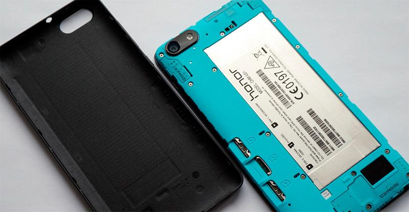 Huawei Honor без крышки