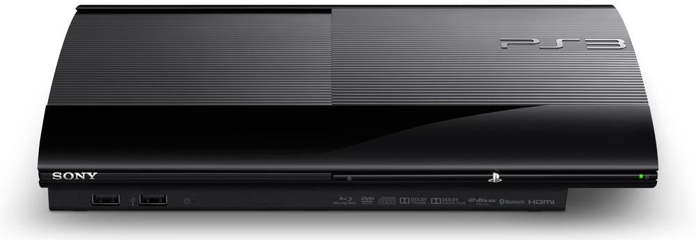 Sony Playstation 3 черная