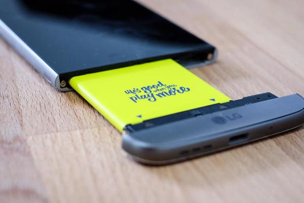 LG G5 без батареи