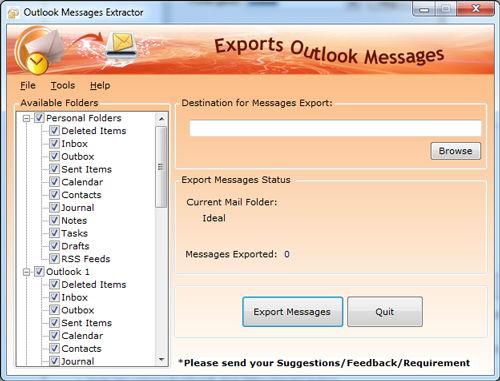 Microsoft OutlookMessage Export