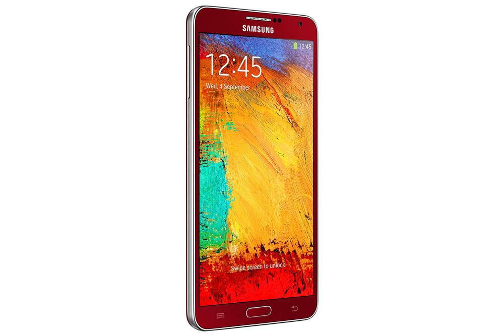 Samsung GalaxyNote 3 Red