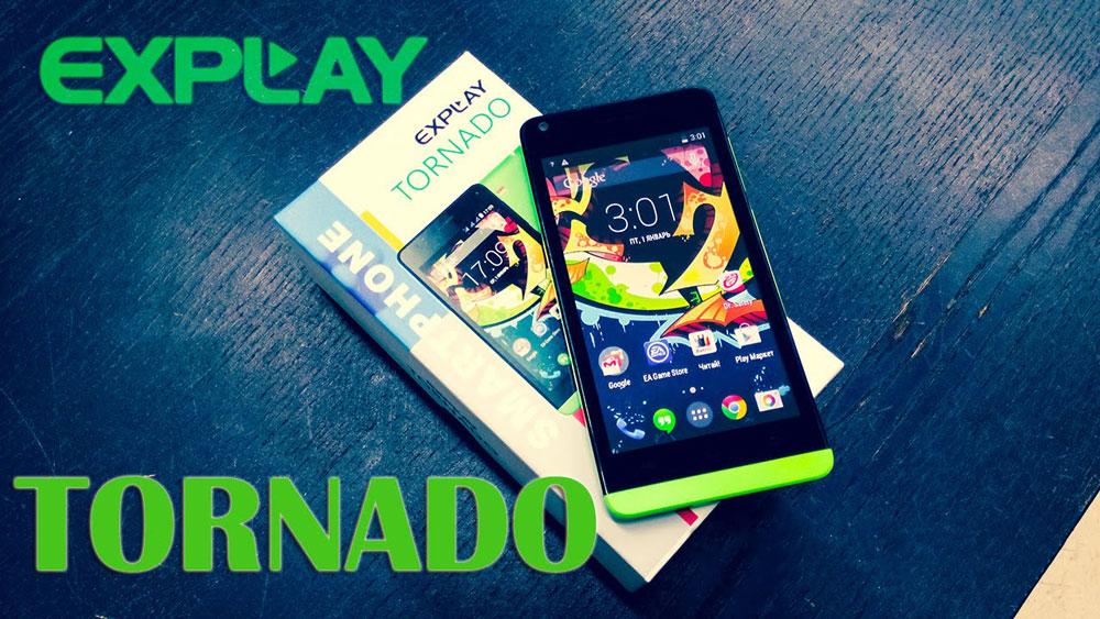 Перепрошиваем смартфон Explay Tornado