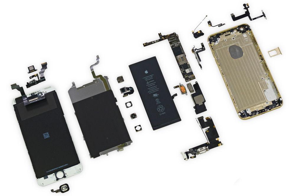 Детали iPhone 6 Plus