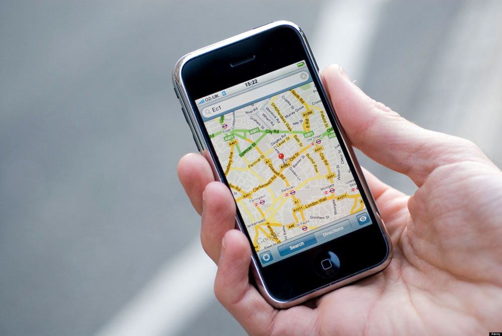 Геолокация IPhone
