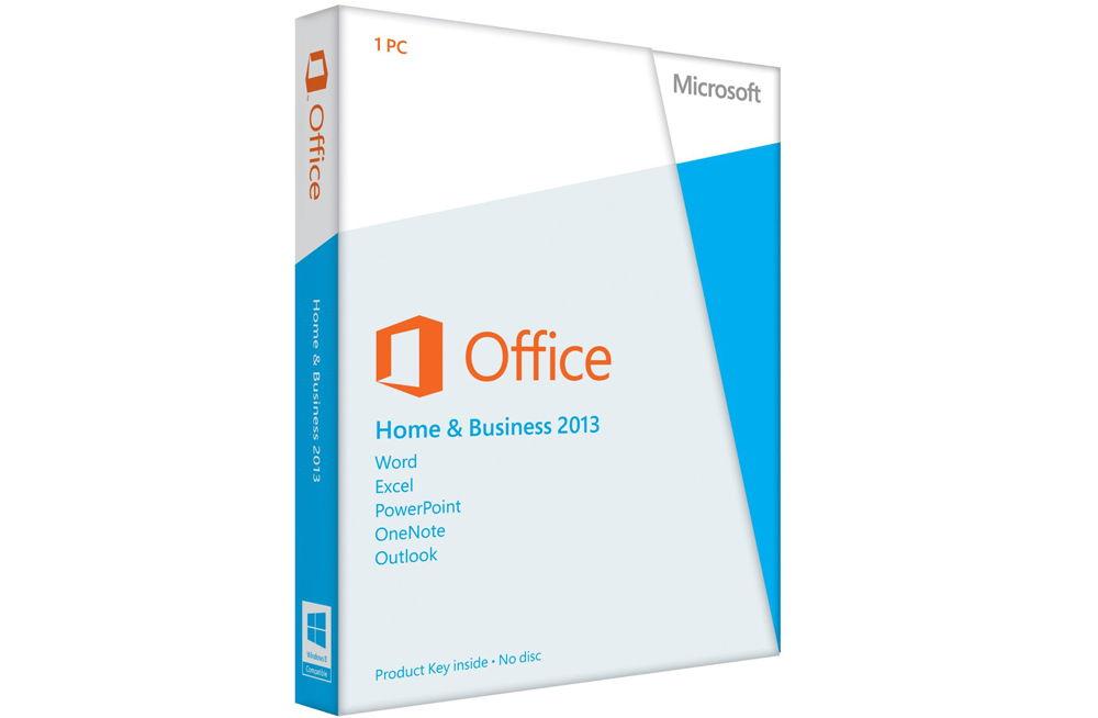 Диск с программой Microsoft Office 2013