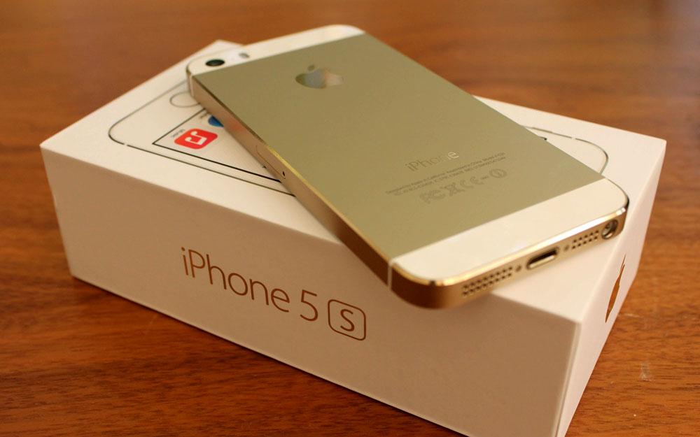 Новый телефон iPhone 5S