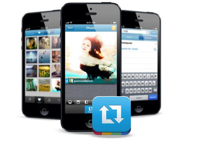 Делаем репост в Instagtam с iPhone