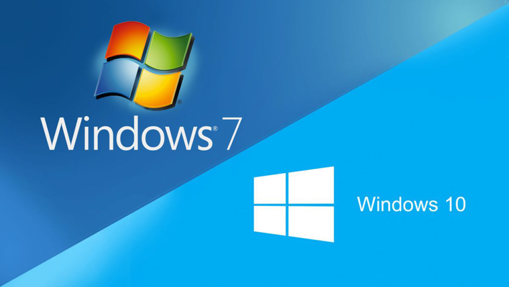 Windows 7 и Windows 10