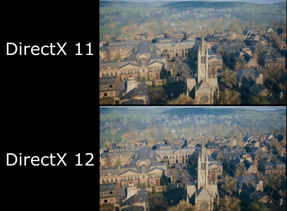 DirectX 11 и DirectX 12