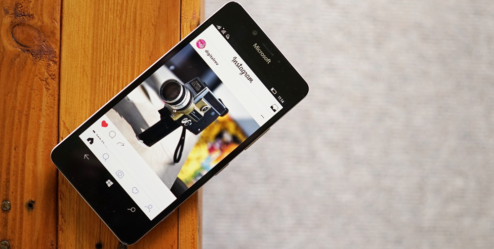 Instagram на Windows Phone