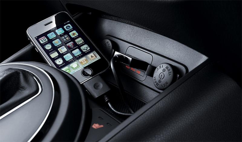 iPhone USB магнитола