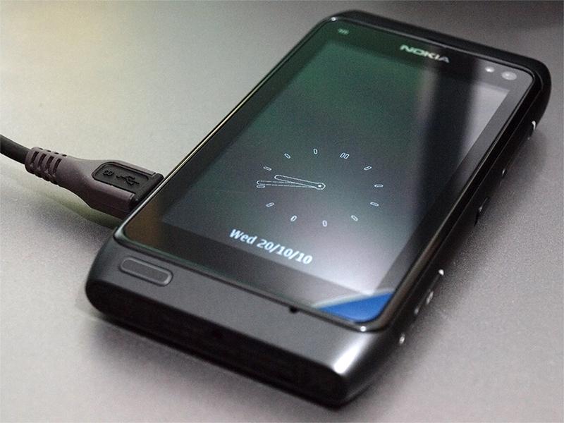 Nokia N8 подключение по USB