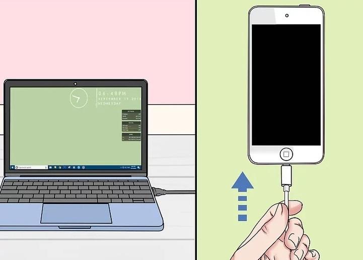 Подключение телефона к ноутбуку через кабель