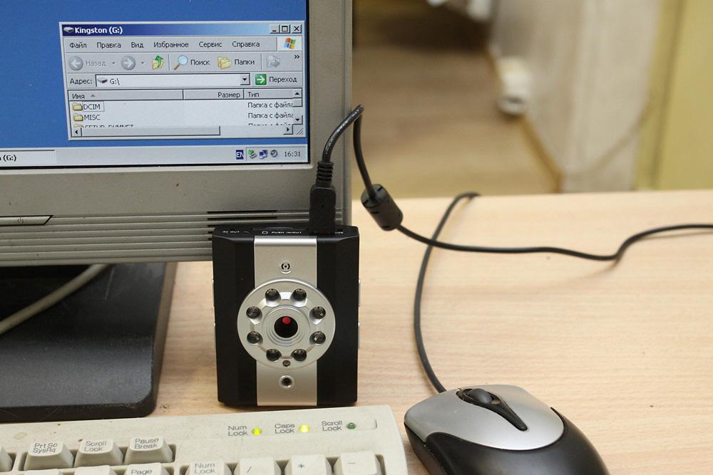 Через USB-соединение