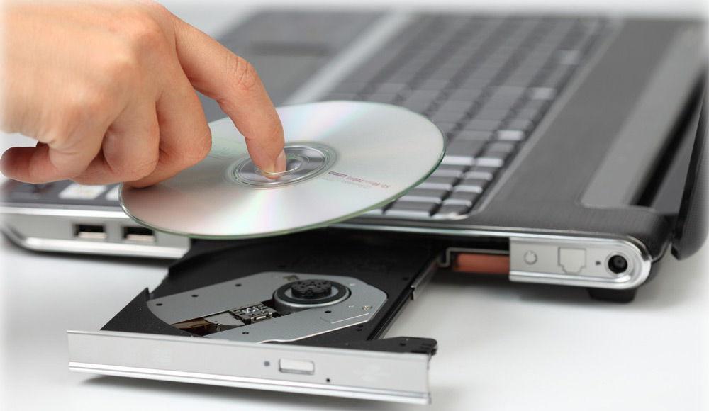Рабочий дисковод ноутбука