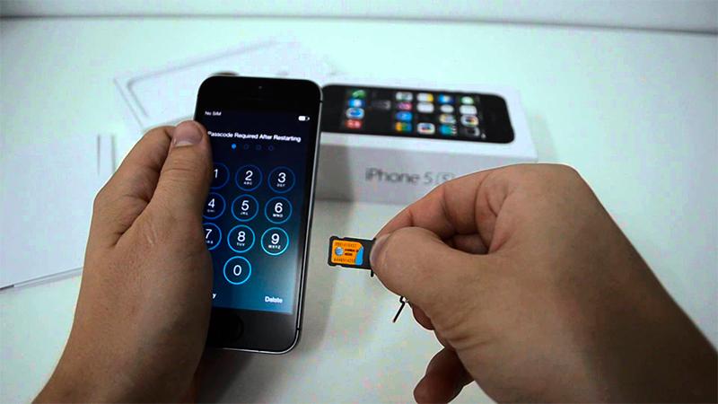 iPhone5 SIM-карта