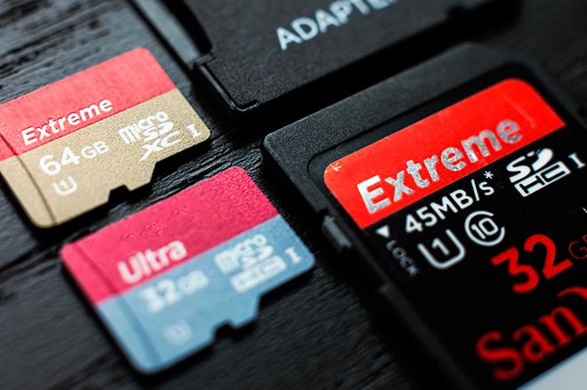 MicroSD и SD-карты