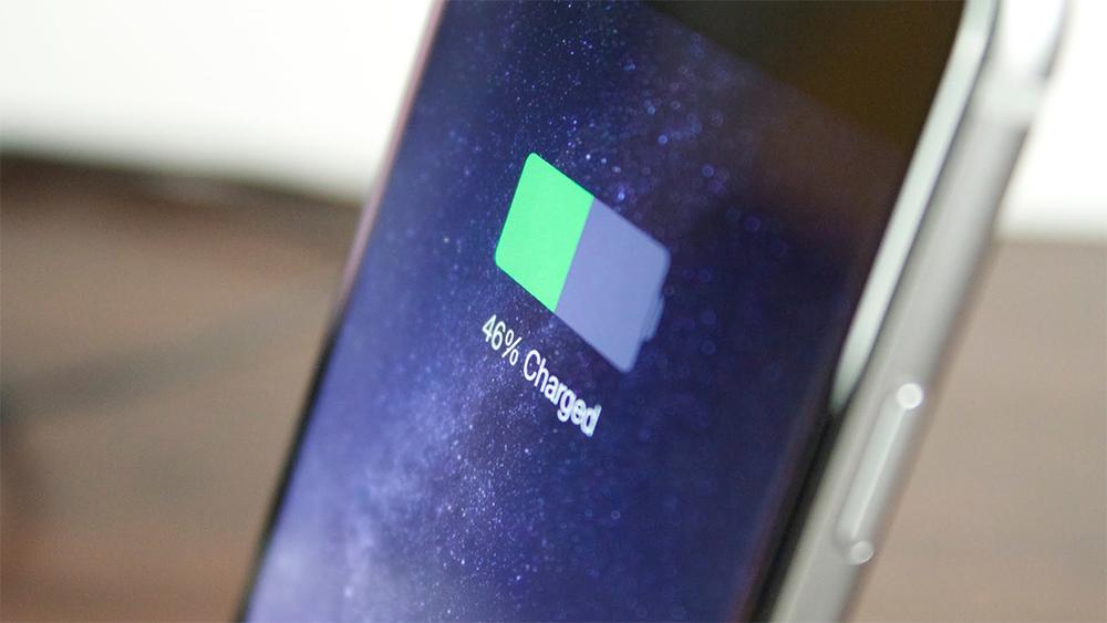 Уровень заряда iPhone