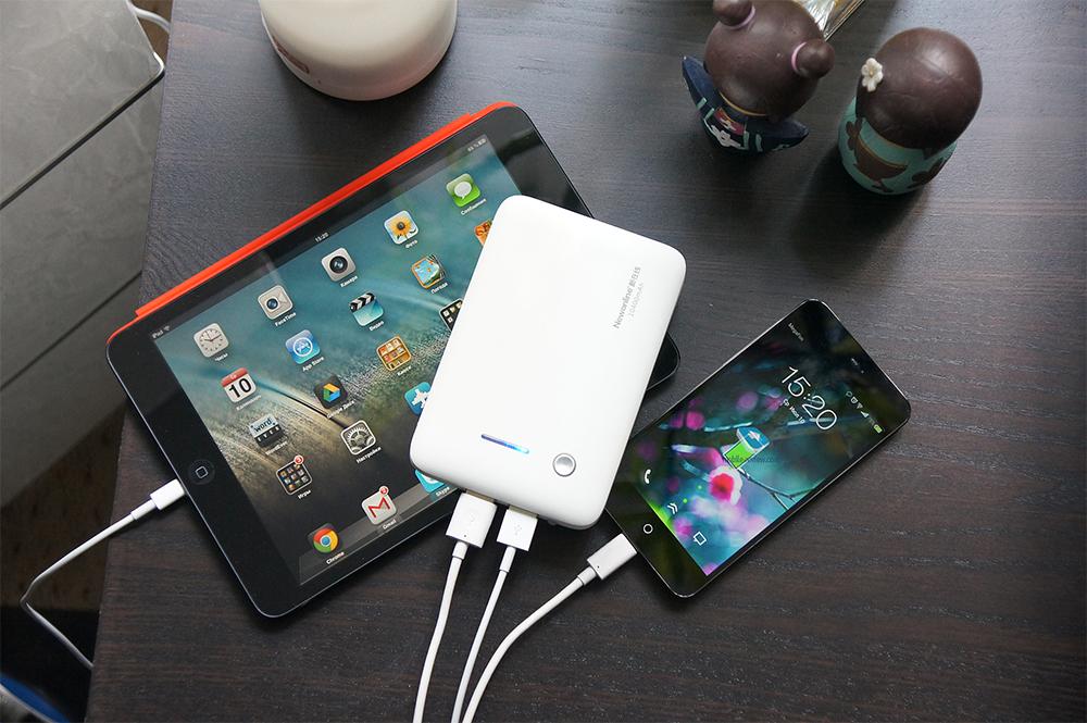 Зарядка iPhone и iPad от Power Bank