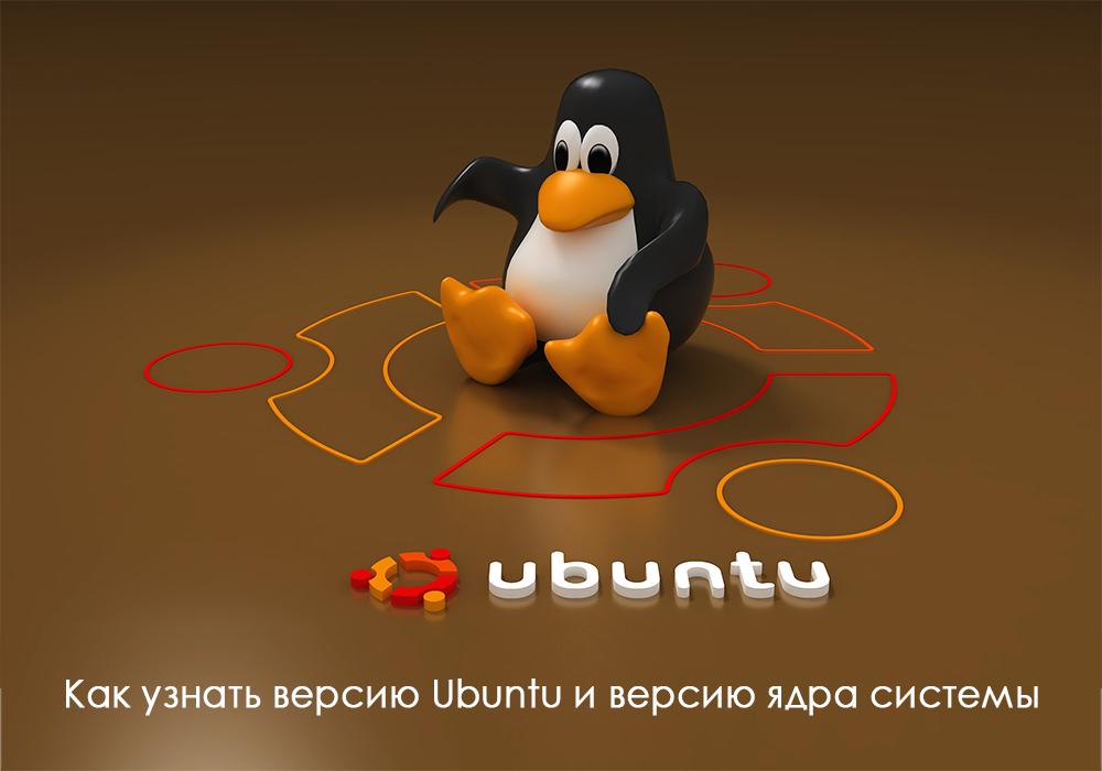 Как узнать версию Убунту