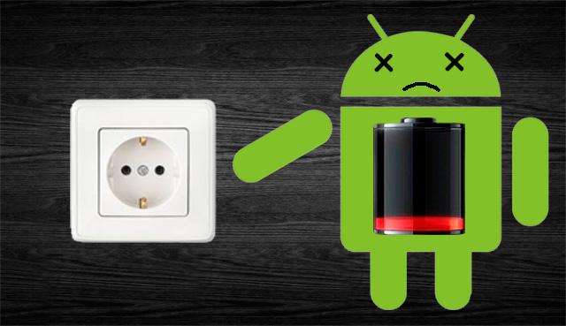 Не заряжается Android