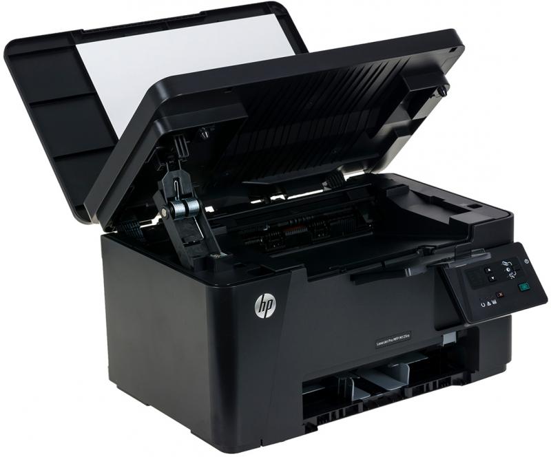 Смена картриджа в HP LaserJet