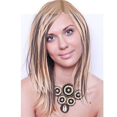 Прорисовка волос