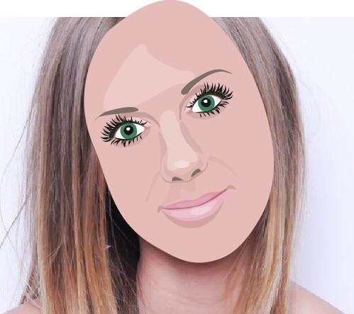Рисуем черты лица