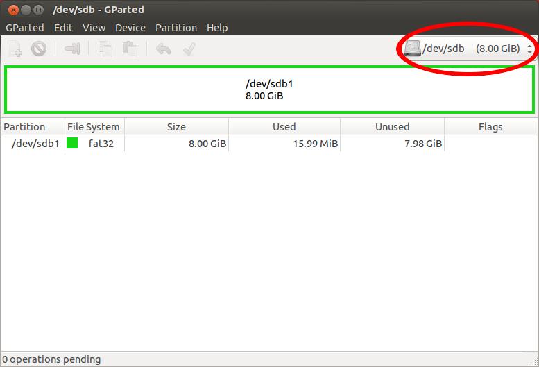 Скриншот установки Убунту