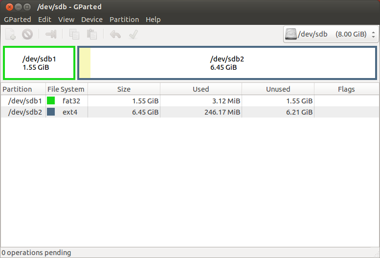 Скриншот загрузки Ubuntu