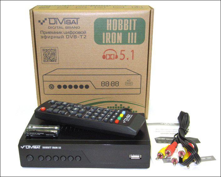 Цифровой приемник DBV-T2
