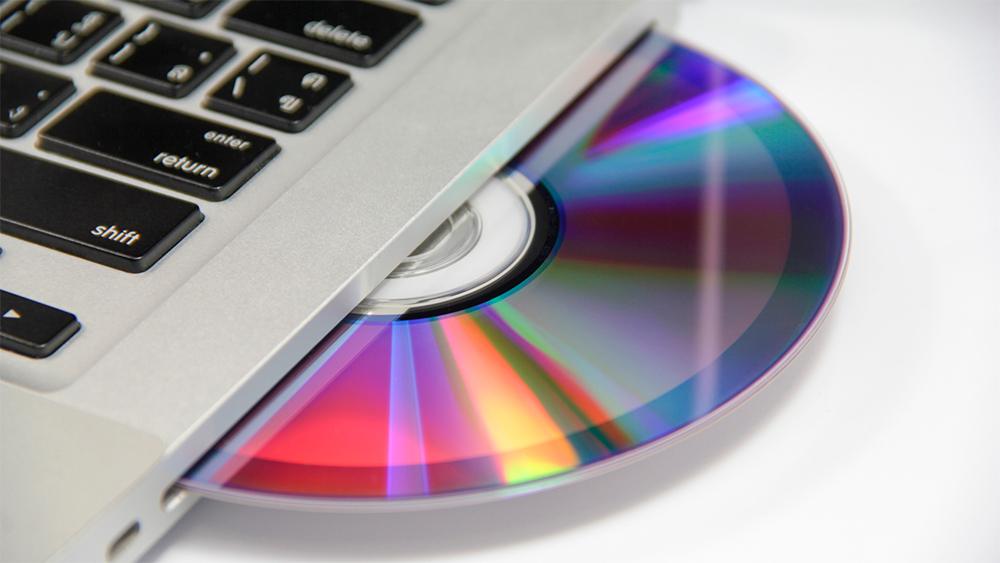 DVD-диск MacBook