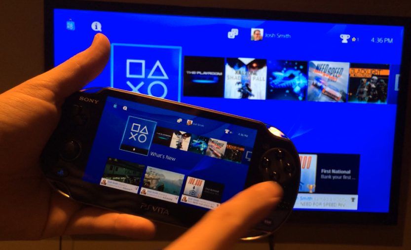 Использование программы Remote Play на PS
